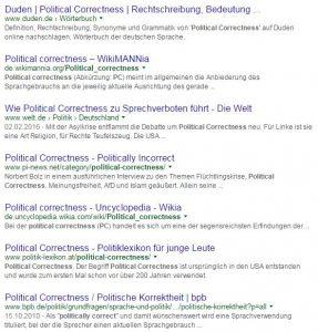 google_political correctness