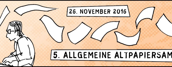 5. Allgemeine Altpapersammlung   © Herr Owley