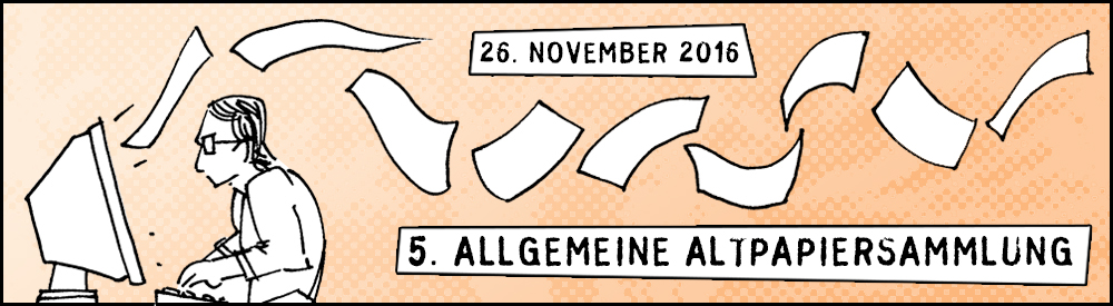 5. Allgemeine Altpapersammlung | © Herr Owley